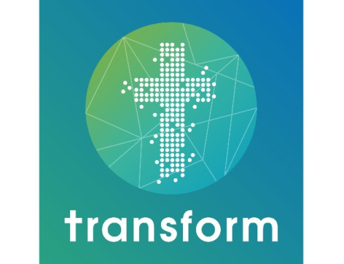 Het logo van Transform!