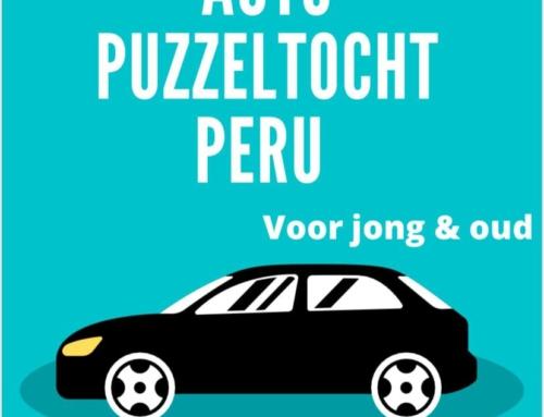 24 mei: Autopuzzelrit voor project Peru